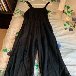 Old Navy Black Jumpsuit with Wide Leg